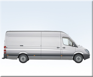 Mercedes Sprinter Lang 3,5t.